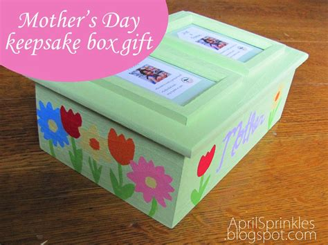 s day box april sprinkles s day custom and diy gift ideas