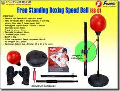 Speedball Boxing Satu Set free standing boxing speed fsb 01 agen alat olahraga