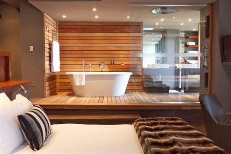 open plan bedroom and bathroom designs modern bathroom design open plan suite sa garden and home