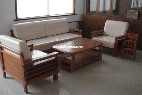 sofa set made of wood wooden sofa set designs