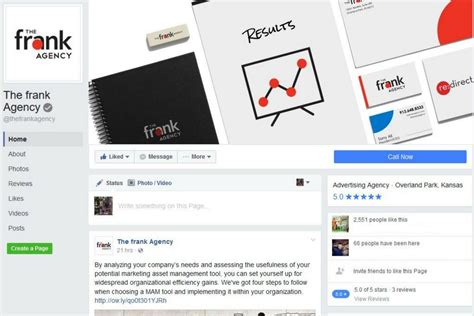 facebook photo layout change facebook rolls out page layout changes the frank agency