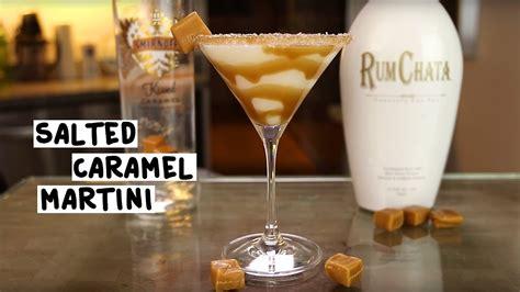 salted caramel martini recipe salted caramel martini tipsy bartender