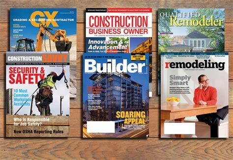 Architecture Trade Magazines Construction Workzone