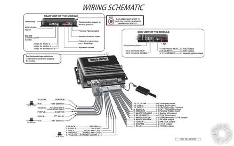 auto command remote starter wiring diagram ready remote