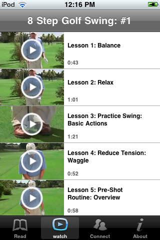 8 step golf swing download expert lease pro software autorun cd menu tools