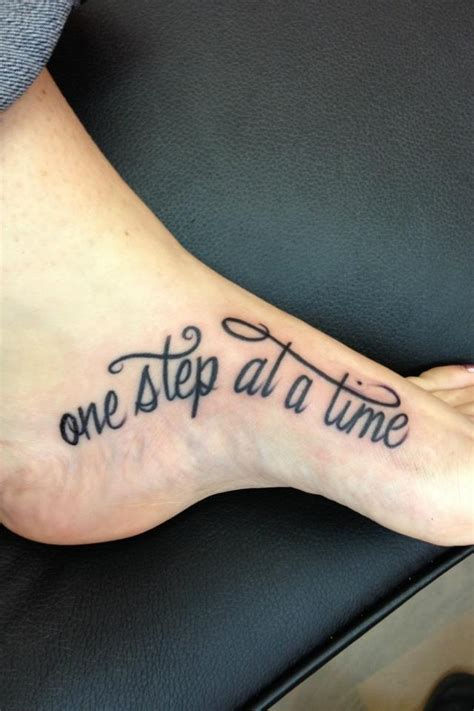 one step at a time tattoo one step at a time tattoos