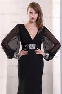classic long sleeve black dress images