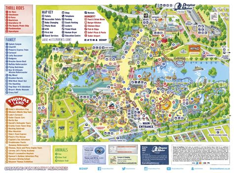 theme park uk map drayton manor guide your guide to drayton manor