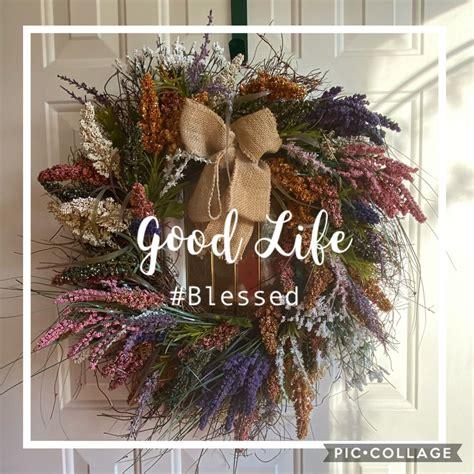love  front door wreath wreath wreathmaking