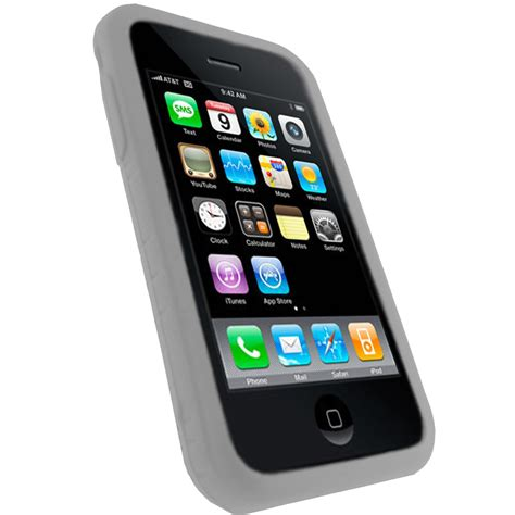 Casing Hp Iphone 3gs white silicone skin for apple iphone 3g 3gs 16gb 32gb bumper cover holder ebay