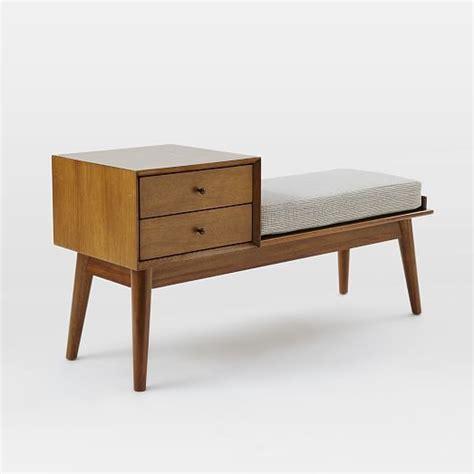 Modern Storage Bench Best 25 Mid Century Furniture Ideas On Pinterest Mid Century Modern Furniture Mid Century