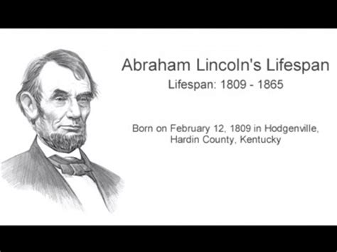 abraham lincoln biography facts history childhood honest abe page 1