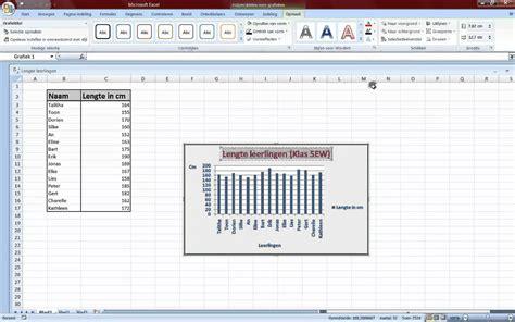 tutorial excel grafieken excel grafiek maken mp4 youtube
