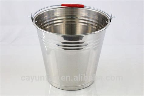 colored metal buckets new water colored metal buckets stainless steel