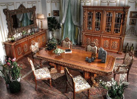 italian dining room antique french furniture italian classic dining room