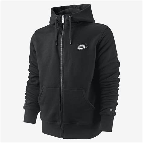 Jaket Hoodie Sweater Zipper Nike new nike mens zip hooded sweat top jacket fleece sweatshirt black hoodie ebay
