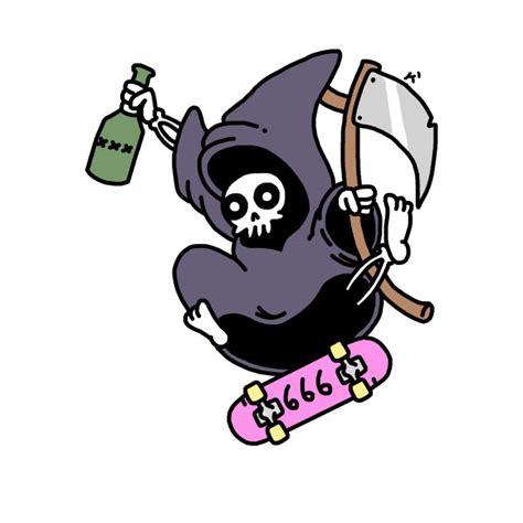 T Shirt Or Die skate or die grim reaper t shirt teepublic