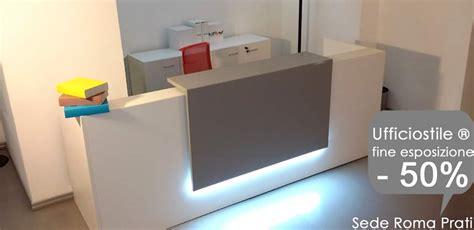 armadi per ufficio prezzi bancone reception ufficio scrivania vetro e acciaio