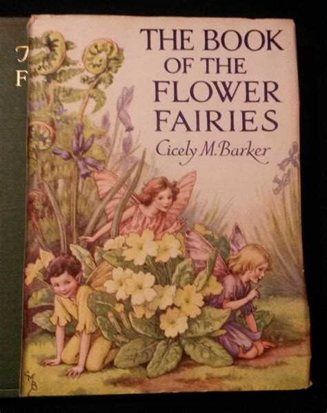 flower fairies of the books illustrated cicely m barker the book of the flower