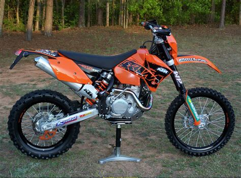 Ktm 525 Weight 2005 Ktm 525 Exc Racing Pics Specs And Information