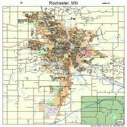 Mn To Rochester Mn Rochester Minnesota Map 2754880