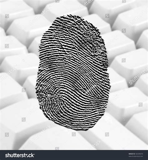 Where Can I Get Fingerprinted For A Background Check Fingerprint Background Of A White Keyboard Stock Photo 56439670