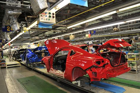 toyota product line subaru brz and toyota gt enters production nafterli s