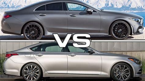 2019 Genesis G80 by 2019 Mercedes Cls Vs 2018 Genesis G80