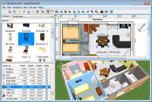 User Friendly 3d Home Design Software Sweet Home 3d For Windows