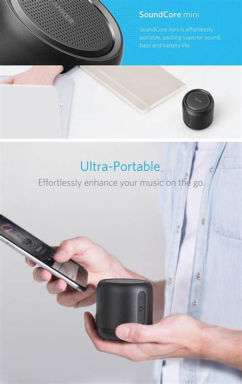 Anker Soundcore Mini Speaker Bluetooth Portable Original don t pay 30 get anker s soundcore mini portable bluetooth speaker for 17 99 shipped