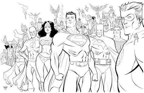 justice league coloring book activities coloring pages