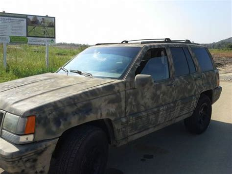 Jeep Grand Paint Sell Used 1995 Jeep Grand 4x4 With Custom Camo