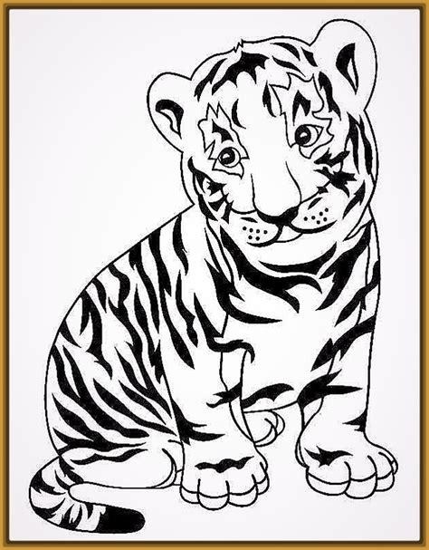 imagenes para dibujar faciles y tiernas imagenes de tigres en dibujos a lapiz fotos de tigres