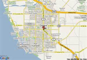 oxnard california map map of best western oxnard inn oxnard