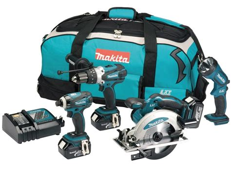 Nagita Set makita dlx4002 18v lxt cordless 4 tool kit 3 x 3 0ah