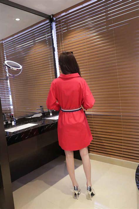 Murah Lu Natal Paling Panjang dress lengan panjang natal korea 2016 toko baju wanita murah goldendragonshop