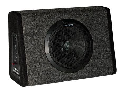 Speaker Kicker bassstation powered subwoofers kicker 174
