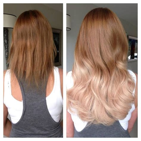 Shoo Kuda Mane N Before After a makeover with great lengths