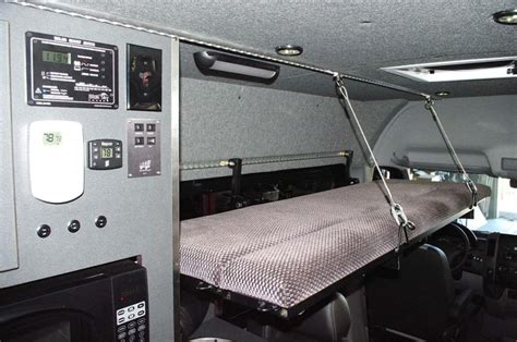 rv folding bed fold down bed in a sprinter cer van conversion