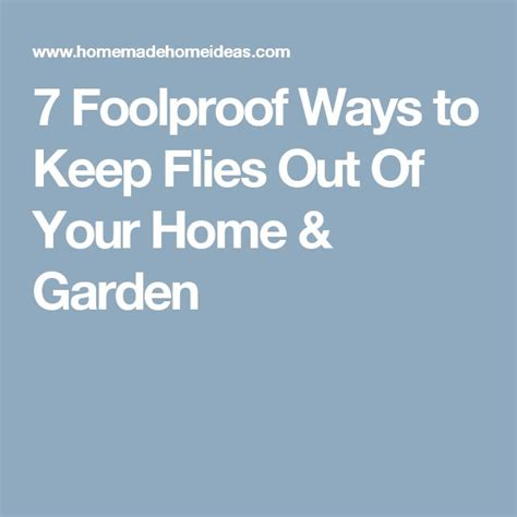 17 best ideas about repel flies on plants that