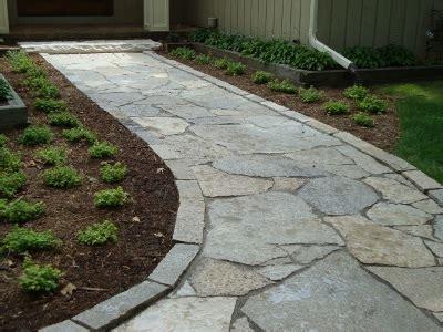 flagstone walkway looks great