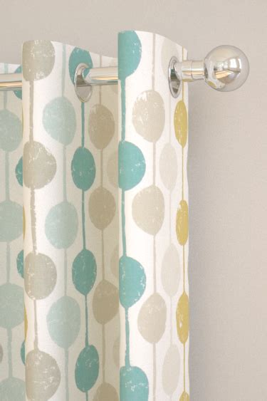 scion ready made curtains taimi seaglass chalk and honey tab top curtains by scion