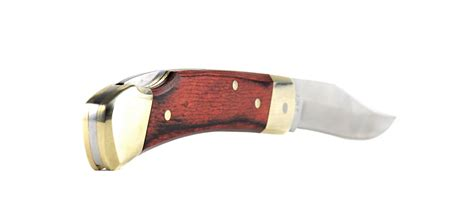 schrade henry lb5 schrade henry lb5 smokey pocket knife with leather