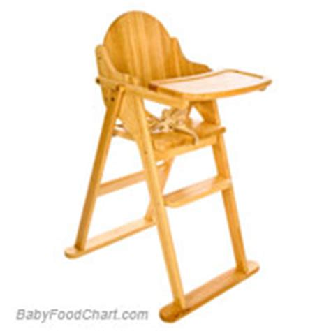 Haig Chair Baby Safe meal qquipment baby food chart