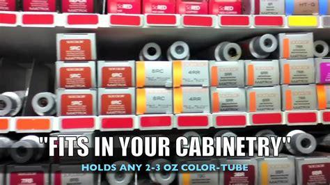 Hair Color Shelf by Diy Hair Color Bar Color Display Salon Takeover