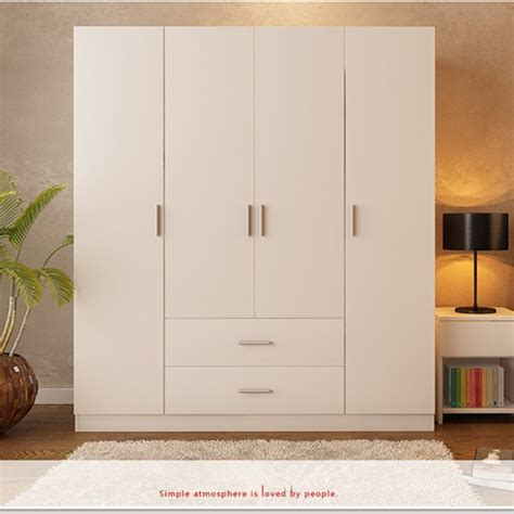 Wardrobe Drawer Design by Modern Four Door And Two Drawer Bedroom Wardrobe Designs