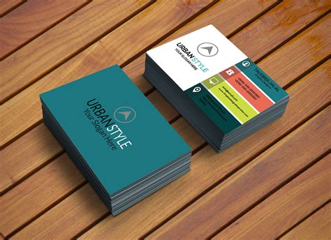 inspirational photoshop business card template new