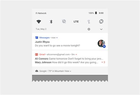material design icon notification notifications patterns material design