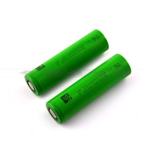 battery color 18650 vtc4 battery green color battery for vape
