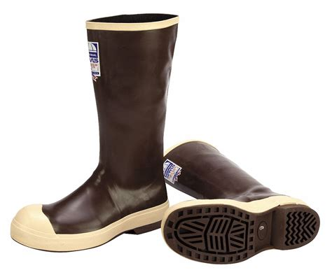 honeywell servus rubber boot mens  knee steel toe